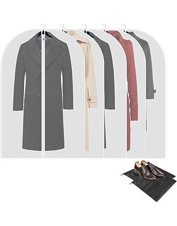 80x60 cm 3 x XL 4 x L 100 * 60 cm HBselect 10 st/ück Kleidersack transparente Kleiderh/üllen/mit Rei/ßverschluss wasserfeste mottensichere staubdichte Anzugs/äcke 3 x M 120x60 cm