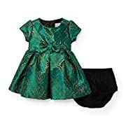 The Children's Place Baby Girls' Emerald Jacquard Dress 2, Multi Clr 90534, 6-9MONTHS