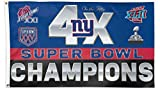 Five Star Flags New New York Giants Flag, Giants Flag, Flag for Indoor or Outdoor Use, 100% Polyester, 3 x 5 Feet. For Sale