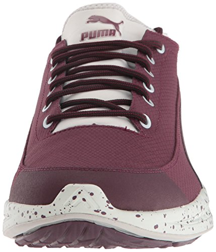 Puma Mens Ignite Calzino Winter Tech Fashion Sneaker Winetasting-glacier