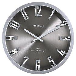 10 in. H Steel Dimension Wall Clock