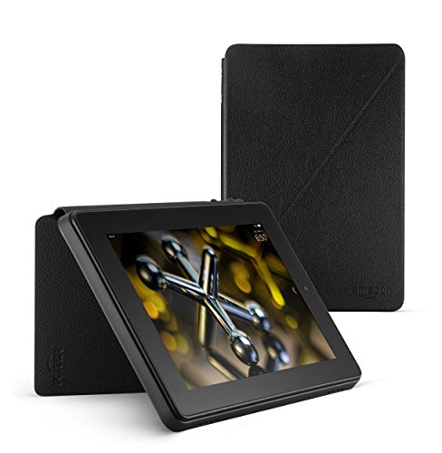 Standing Leather Case for Fire HD 7 (4th Generation), - Standing Portrait