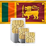 Indonesia, Singapore, Sri Lanka High-Speed Mobile Data SIM Card 5GB for Valid for 30 Days