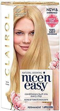Nice N Easy Tinte de pelo extra light Blonde 9,5: Amazon.es ...