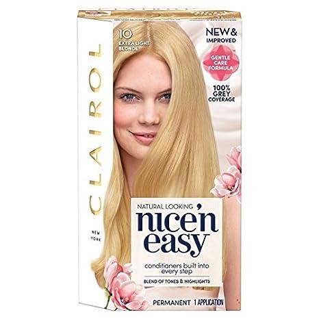 Couleur de cheveux blond extra clair