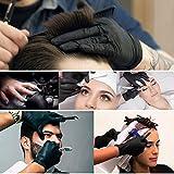20 Counts Hair Dye Gloves, Segbeauty Black Reusable