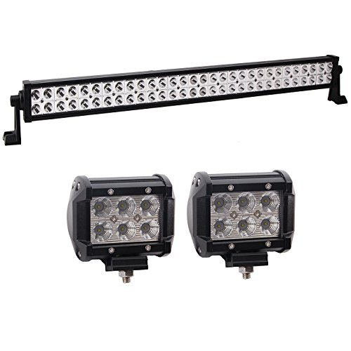 1x 32 180w flood spot combo led