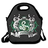 SuperWW Harry Potter Slytherin Lunch Bag Tote Handbag