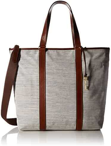 Fossil Maya Work Tote-Chambray