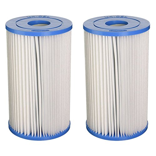 Unicel Swimming Pool/Spa PIN20 Intex Replacement Filter Cartridge (2 Pack) C5315