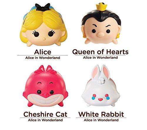 Tsum Tsum Disney 4 Figure Alice in Wonderland Pack - Alice Q