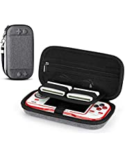 Fromsky Case for Evercade Retro Handle Console with Atari Namco Cartridge Accessories Container, Portable Hard Case Travel Bag Protective Cover (Gray)