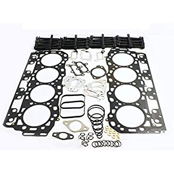 amazon gm duramax lb7 6 6 head gasket set with head bolts 037 V6 Heads gm duramax lb7 6 6 head gasket set with head bolts 037 thick type a