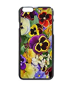 """Pretty Pansies Hard Customized Case Cover , iPhone 6 (4.7"""") Case Cover, Protection Quique Cover, Perfect fit, Show your own personalized phone Case for iPhone 6 - 4.7 inches"""