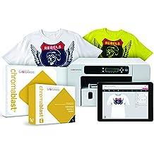 "Sawgrass Virtuoso SG400 Chromablast Printer With CMYK Inks & 200 Sheets Of 8-1/2"" x 11"" Chromablast Paper Plus Creative Studio Software!"