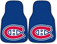 Fanmats 10406 NHL Montreal Canadiens Nylon Face Carpet Car Mat