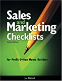 Sales and Marketing Checklists for Profit-Driven Home Builders, Mitchell, Jan, 0867185406