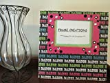 5x7 Dance Themed - Hand Decorated Picture Frame