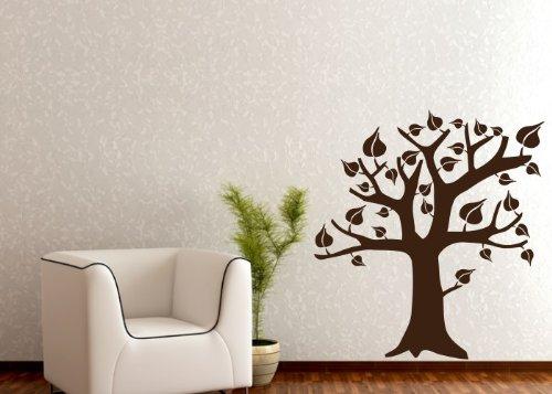 Wandtattooladen Wandtattoo - Laubbaum Laubbaum Laubbaum Größe 145x160cm Farbe  weiß B013R7SQ7G | Online Shop  3581b0