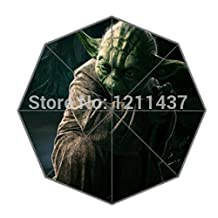 Anti-Uv Umbrella,New Arrival Yoda - Star Wars Foldable Umbrella