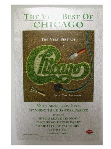 Chicago Poster Window The Band (Chicago Window Poster compare prices)