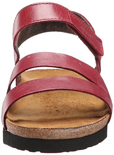 Naot Kayla Leather Wedge Women's Rumba Sandal RwAqR5r