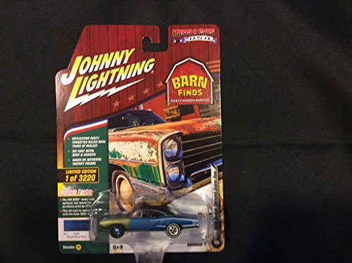 Johnny Lightning JLMC012 Muscle Car 1970 Dodge Coronet Super Bee Ver A Blue Poly