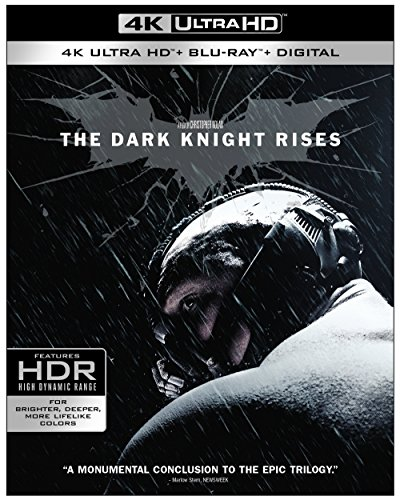 4K Blu-ray : The Dark Knight Rises (4K Mastering, 3 Disc)