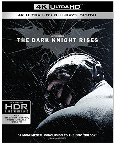 The Dark Knight Rises (Ultra HD/BD) [Blu-ray] (Rise Batman)