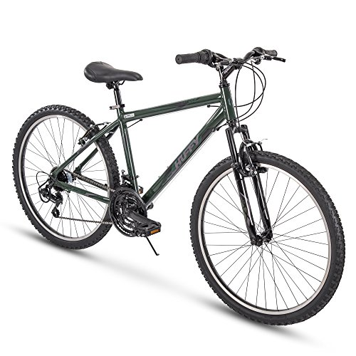 Huffy 21 Speed Mountain Bike Exxo with Shimano Derailleur and Aluminum Frame