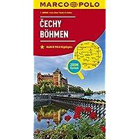 MARCO POLO Karte Tschechien Blatt 1 Böhmen 1:200 000 (MARCO POLO Karten 1:200.000)
