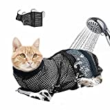 Didog Soft Mesh Cat Grooming Bag - Cat Restraint Bag for Grooming Bathing Injecting Examining Nail Trimming
