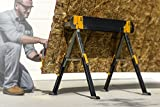 Toughbuilt Sawhorse Adjustable up to 4 x 4 Size