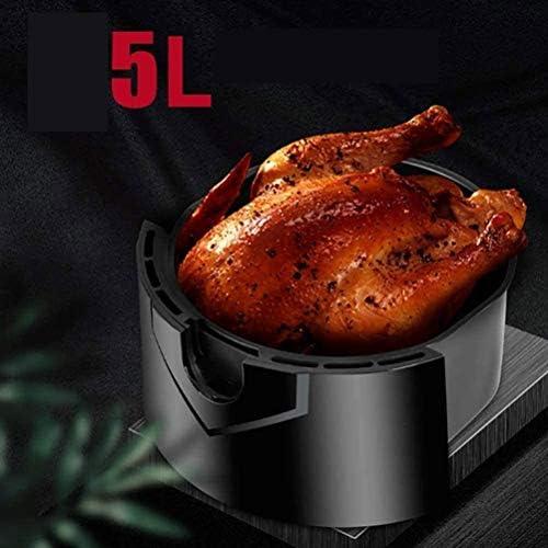 JJSFJH Airfriteuse Crisp Electric Air Fryer kachel met temperatuurregeling, anti-stick friteuse mand, automatische uitschakeling