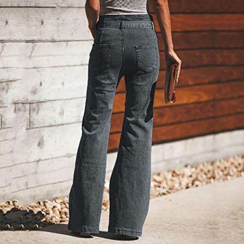 Hole Para Mujer ❤️;;; Women miumiu Jeans Amuse Gris Vaqueros 4wxn1p6C7q