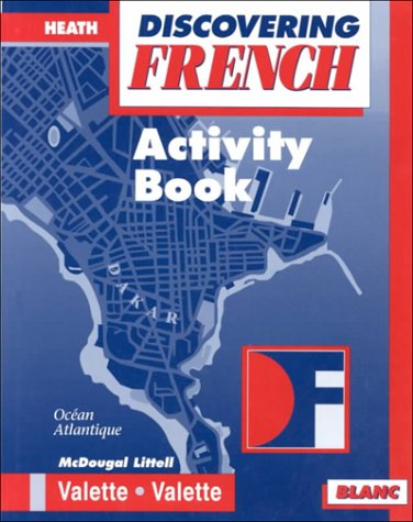 Discovering French - Blanc: Activity Book