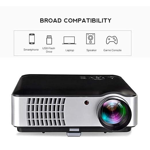 KAIDILA Proyector, WiFi Full HD nativa 1280 x 800 portátil ...