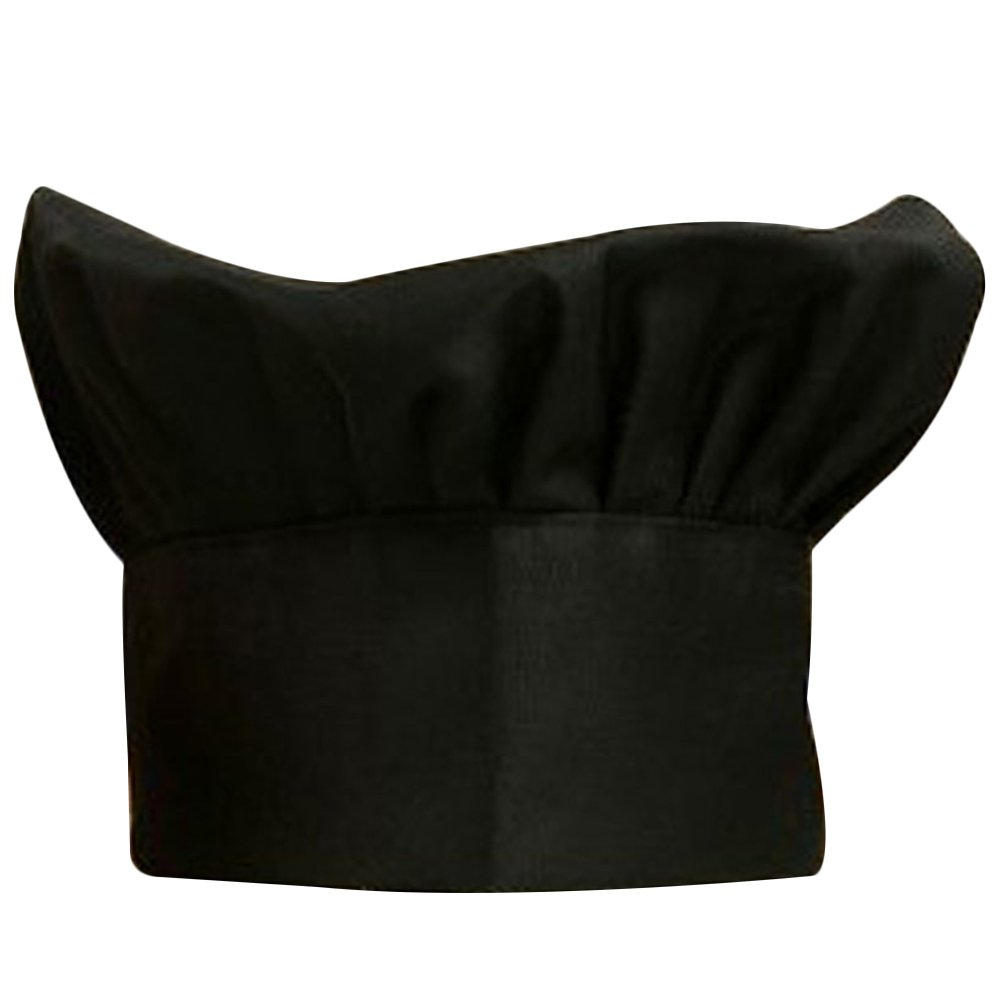 Pepper Red JINBEST Chef Hat Adult Adjustable Elastic Baker Kitchen Cooking Chef Cap