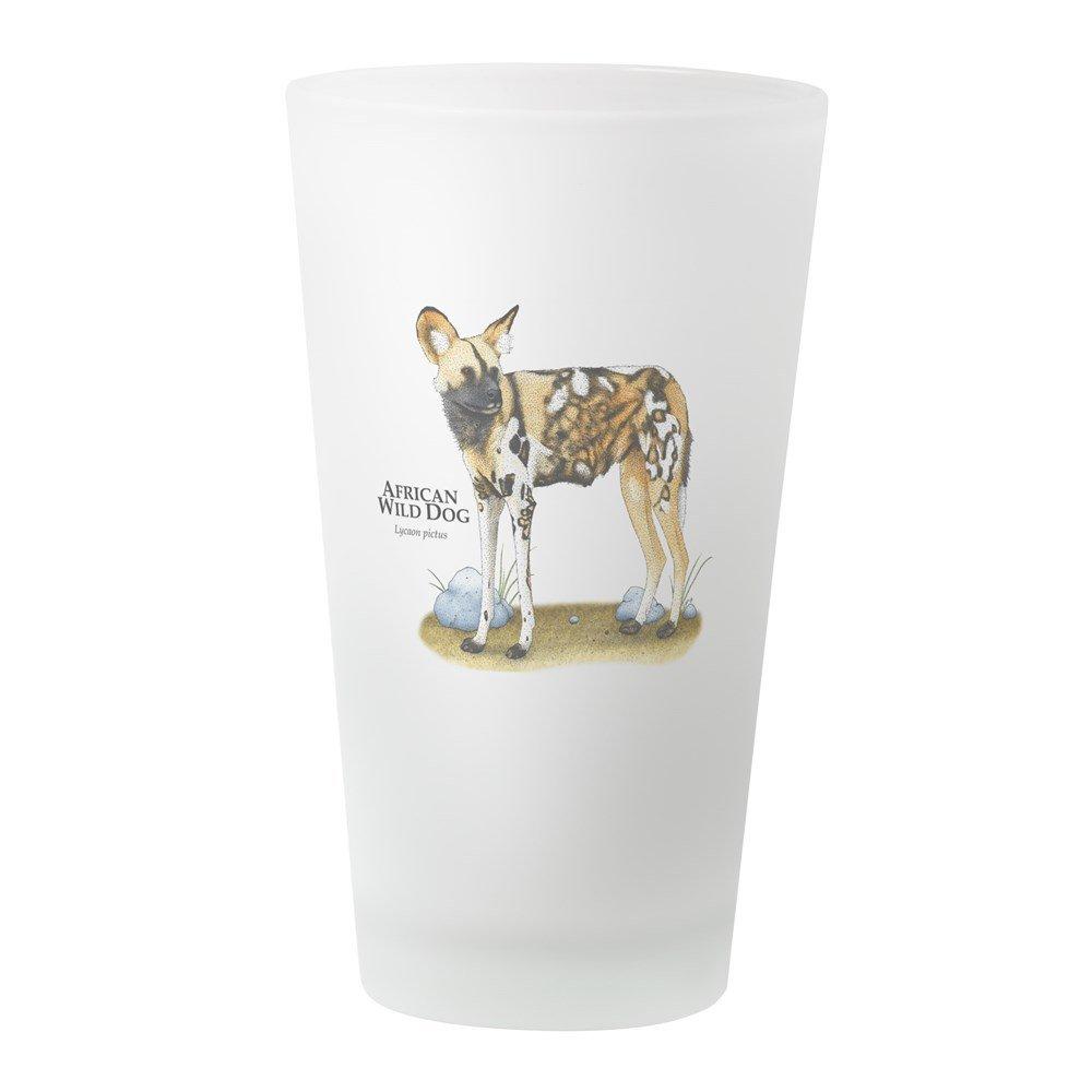 CafePress - African Wild Dog - Pint Glass, 16 oz. Drinking Glass