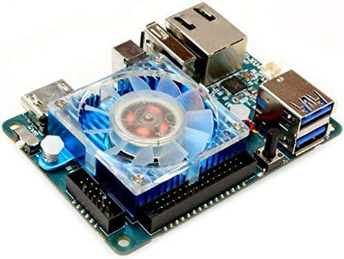 ODROID XU4 with active cooler and power supply (Single Board Computer Linux)
