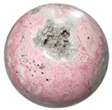 Rhodochrosite Ball 34 Pink Crystal Amazing Quartz Cluster Cave Master Love Healing Sphere Stone 3''