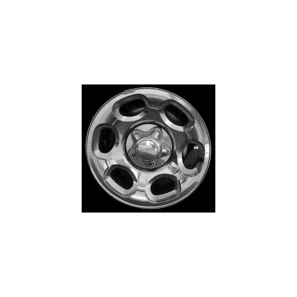00 02 LINCOLN NAVIGATOR ALLOY WHEEL RIM 17 INCH SUV, Diameter 17, Width 7.5 (CHROME, 6 OVAL), Uses 14mm bolts WARNING Wheels with 12 & 14 mm nuts have the same bolt holes but is not recommeded to int