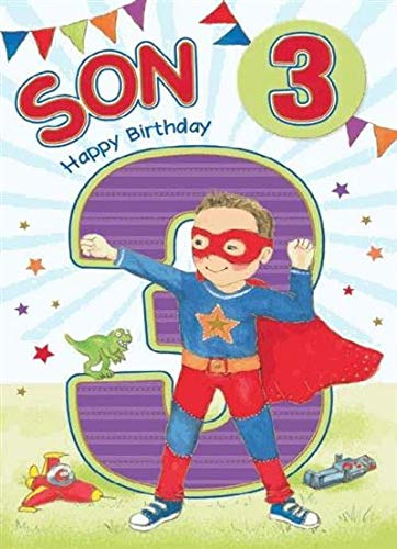 Tarjeta de cumpleaños para hijo: Amazon.es: Oficina y papelería