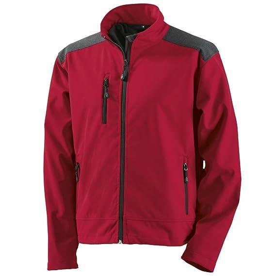 Berufsbekleidung24, Jacke, Korsar Kapuzenjacke Montego, rot