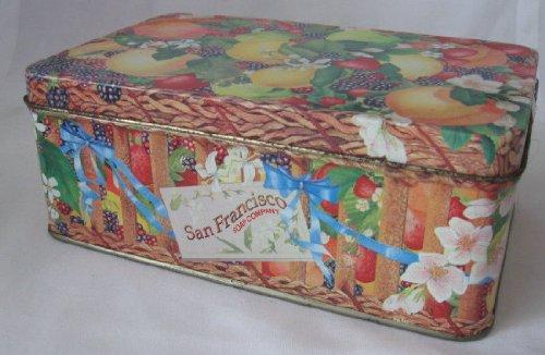 San Francisco Soap Company Fruit Tin Collectible Tin 7