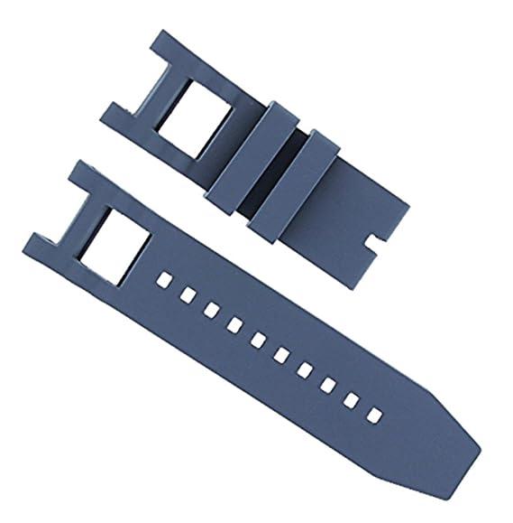 Correa de reloj de goma de silicona para Invicta Venom Reserve 0973, 0975, 10832, 10830, 10833: Amazon.es: Relojes
