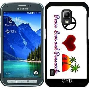 Funda para Samsung Galaxy S5 Active - La Paz, El Amor Y Pensacola by loki1982