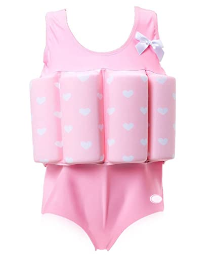 7de96566ec Zerlar Swimwear Float Suit with Adjustable Buoyancy for 1-10 Years Babies  Swimming Boating (
