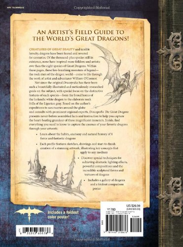 Dracopedia The Great Dragons: An Artist's Field Guide and