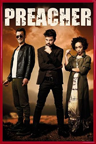 Amazon.com: Preacher Poster and Frame (Plastic) - Group (36 x 24 ...